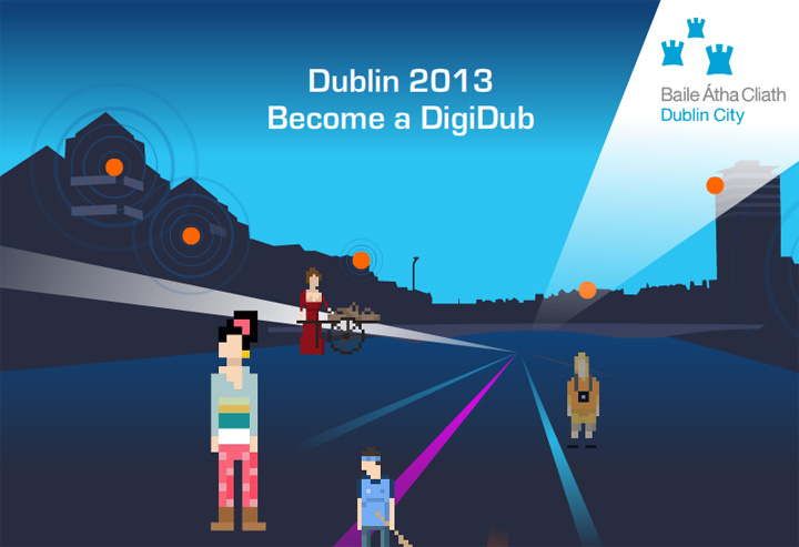 Digital Dublin animation Baboom