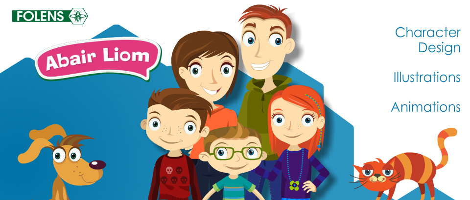 Abair Liom Illustrations and Animations by Baboom Design